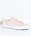 Converse One Star Pro Dusty Pink & White Skate Shoes