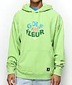 Converse x Golf Wang Le Fleur Jade Lime Hoodie