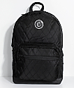 Cookies 1680 Quilted Black Backpack