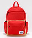 Cookies Fundamental Red & Tan Backpack