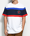 Cookies Monterey Striped Knit White T-Shirt