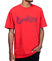 Cookies Thin Mint Hi Density Red T-Shirt