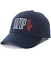 Cookies x Wizop Navy Strapback Hat