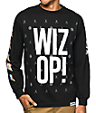 Cookies x Wizop Stacked Wizop Long Sleeve Black T-Shirt