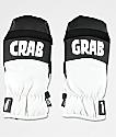 Crab Grab Punch Black & White Snowboard Mittens