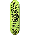 "Creature X Sketchy Tank Russell Tanked Glow 8.5"" Skateboard Deck"