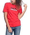 Crooks & Castles Mirror Logo Red T-Shirt
