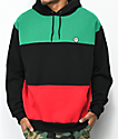 Cross Colours Blocked Black Hoodie