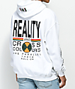 Cross Colours Reality White Hoodie