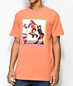 Cross Colours TLC Jump Coral T-Shirt