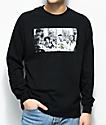 Cross Colours Will Dinner Black Long Sleeve T-Shirt