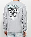Cruizer & Co. New Web Grey Long Sleeve T-Shirt