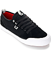 DC Evan Smith S Black & White Skate Shoes