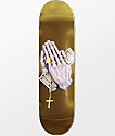 "DGK Blessed Gold Foil 8.0"" Skateboard Deck"