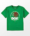 DGK Boys Familia Green T-Shirt