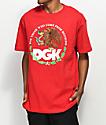 DGK Familia Red T-Shirt