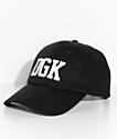 DGK Hitter Black Strapback Hat