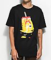 DGK Melted Black T-Shirt