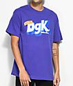 DGK Mix-Up Purple T-Shirt