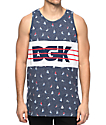 DGK St. Thomas Blue Tank Top