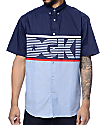 DGK Stadium Blue Button Up Shirt