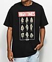 DGK X High Times Fire Black T-Shirt