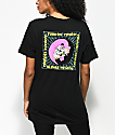 DROPOUT CLUB INTL. x Funeral French Breakthrough Black T-Shirt