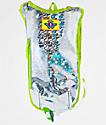 Dan-Pak Retro Raver Silver Hydration Backpack