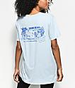 Dark Seas All Day Pearl Blue T-Shirt