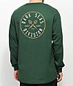 Dark Seas Coastal Guard Forest Green Long Sleeve T-Shirt