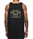 Dark Seas Headmaster Badge Black Tank Top