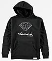 Diamond Boys OG Sign Black Hoodie