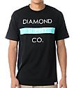 Diamond Supply Co Bar Logo Black T-Shirt
