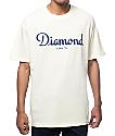 Diamond Supply Co Champagne Script Cream T-Shirt