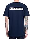 Diamond Supply Co Marquise Navy T-Shirt