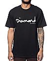 Diamond Supply Co OG Script Black T-Shirt