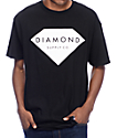 Diamond Supply Co Solid Stone Black T-Shirt