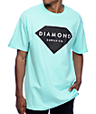Diamond Supply Co Solid Stone Blue T-Shirt