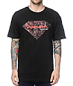 Diamond Supply Co Splatter Black & Red T-Shirt