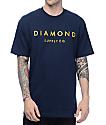 Diamond Supply Co Stone Cut Military Navy T-Shirt