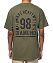 Diamond Supply Co. Access Army Green T-Shirt