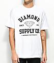 Diamond Supply Co. Athetic White T-Shirt