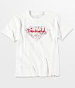Diamond Supply Co. Boys Splatter Diamond White T-Shirt