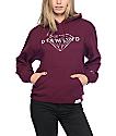 Diamond Supply Co. Brilliant Burgundy Hoodie