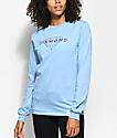 Diamond Supply Co. Brilliant Light Blue Long Sleeve T-Shirt