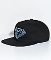 Diamond Supply Co. Brilliant Unstructured Black Snapback Hat