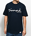 Diamond Supply Co. Infinite OG Script Navy T-Shirt