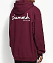 Diamond Supply Co. OG Script Burgundy Hoodie