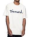 Diamond Supply Co. OG Script Cream T-Shirt