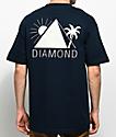 Diamond Supply Co. Oases Navy T-Shirt